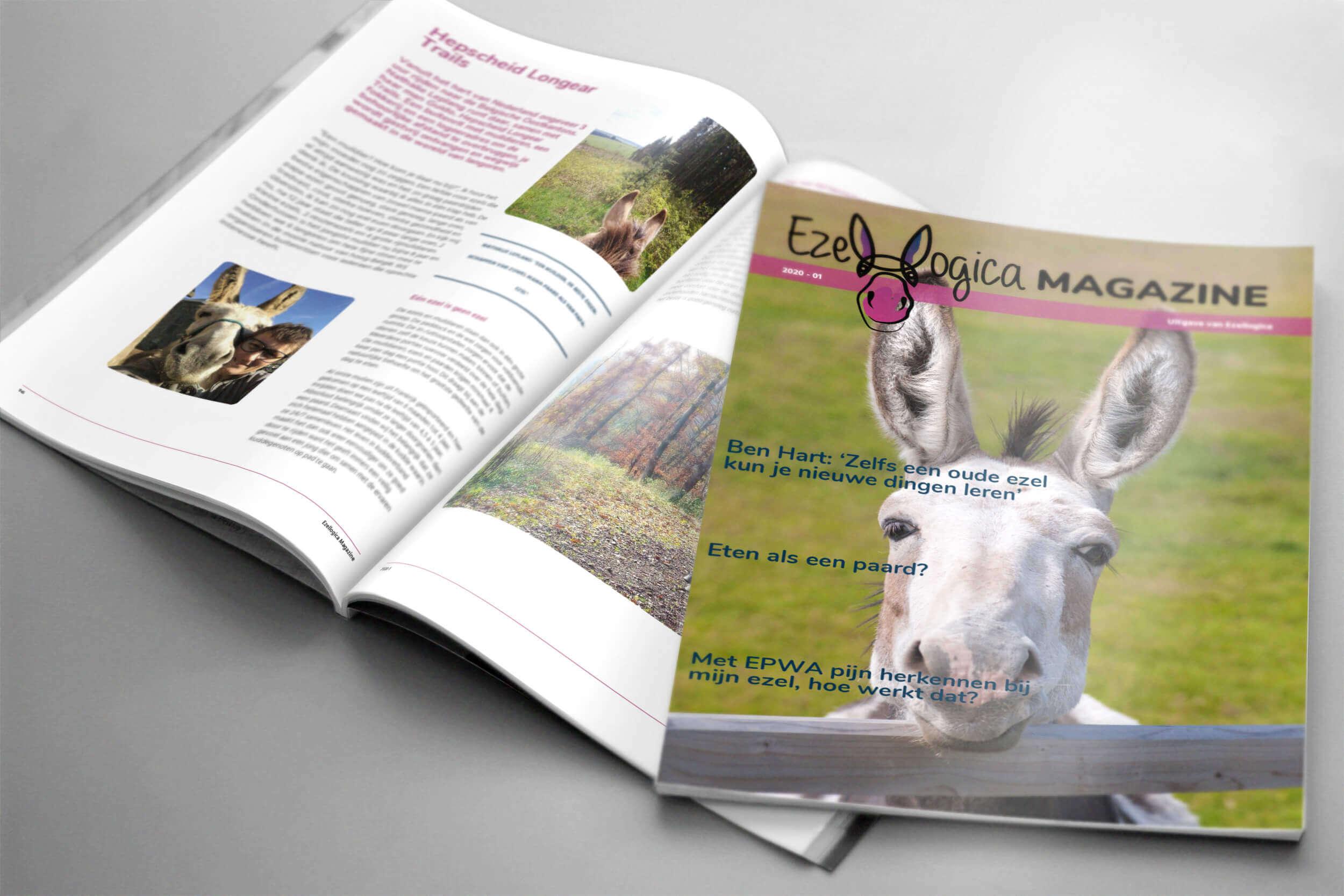 Het ezelmagazine van Ezellogica - informatie over ezels