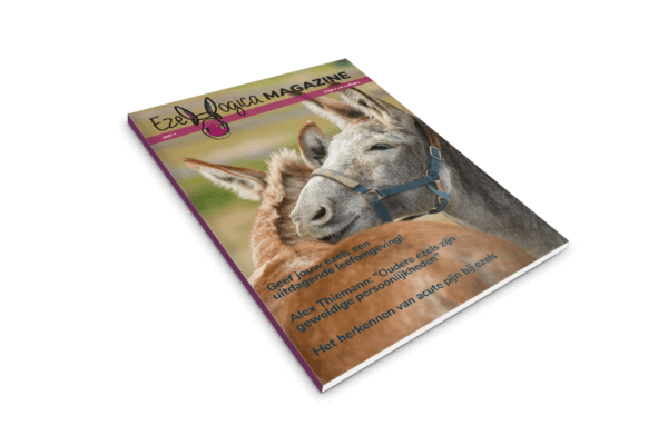 Voorkant Ezelmagazine Ezellogica 2021-1