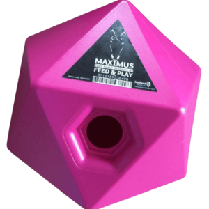 Voerbal Maximus roze